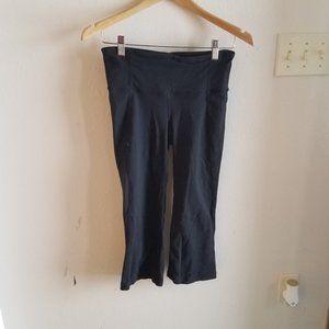 Lululemon Black Yoga Capri Leggings